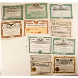 Nevada Mining Stock Collection