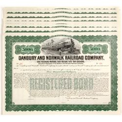 Danbury and Norwalk Railroad Company Gold Bonds
