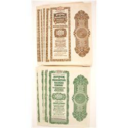 Hudson & Manhattan Railroad Company Bond Certificates