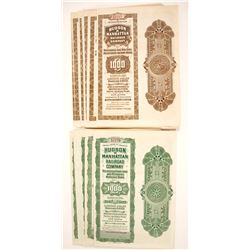 Hudson & Manhattan Railroad Company Bond Certificates