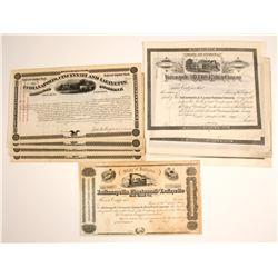 Indianapolis, Cincinnati and Lafayette Railroad Company, Indianapolis & St. Louis Railway Company, I