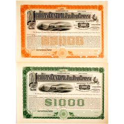 Michigan Central Railroad Company Gold Bonds