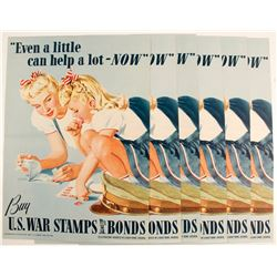Posters for Purchasing U.S. Stamps & Bonds (6)