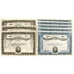 Pullman Company Stock Certificates