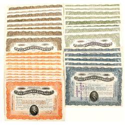 Pullman Incorporated (Railroad Stock Certificates)