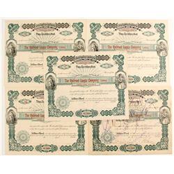 Railroad Lands Company Stock Certificates
