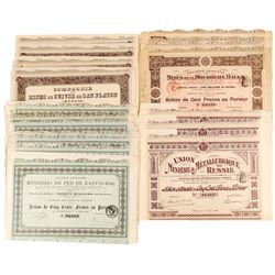 Russian and Baltic Mining Company Bond Certificates