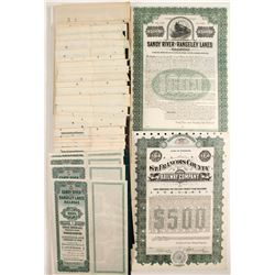 Sandy River & Rangeley Lakes Railroad and Three Different St. Francois County Railroad Company Bond