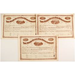 Sixth Avenue Railroad Company Stock Certificates