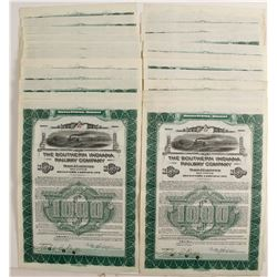 Southern Indiana Railway Company Bond Certificates