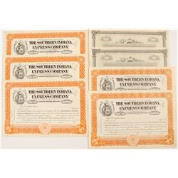 Southern Indiana Railway Company Stock Certificates