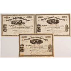 Stateline and Sullivan Rail Road Company Stock Certificates