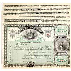 Trenton Street Railway Company Stocks