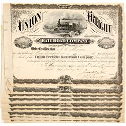 Union Freight Railroad Company Stocks