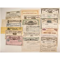 Unissued Mining Stock Collection