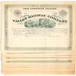 Valley Railway Company Stocks
