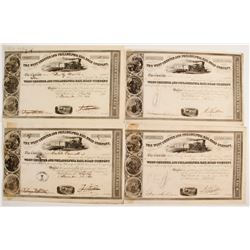 West Chester and Philadelphia Rail Road Company Stock Certificates