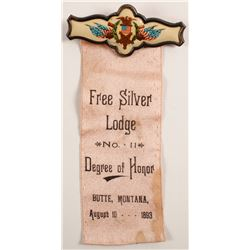 Free Silver Lodge, Butte, MT Ribbon