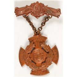 Spanish American War Badge