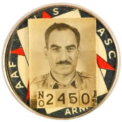 WWII Shipyard ID Badge