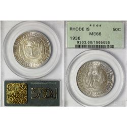 1936 Rhode Island Commemorative Half Dollar
