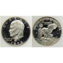 Proof 1973-S Eisenhower Dollar