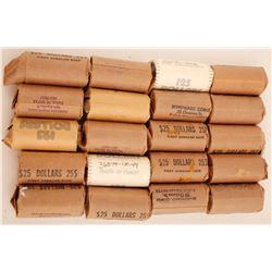 20 Rolls of SB Anthony Dollar Coins