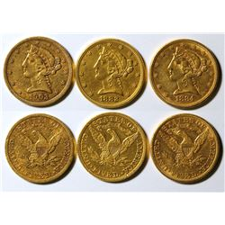 Five Dollar Gold Pieces