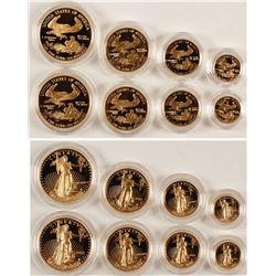 American Eagle Gold Bullion Proof Sets (2)