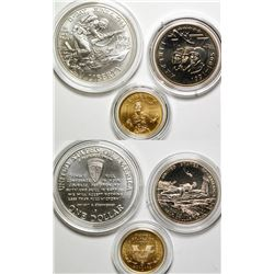 1992 World War II Commemorative coins set.