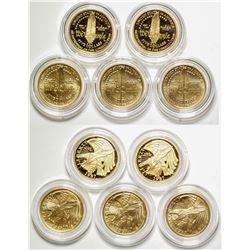 U.S. Constitution $5 Gold