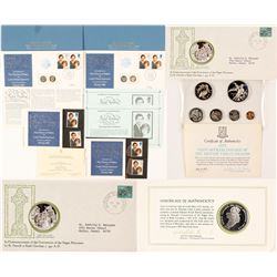 Lady Diana Wedding Commemorative and Foreign Proofs