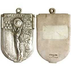 Sterling Shooting Medal