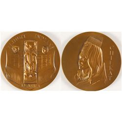 Chilkat Tlingit Indians - Society of Medalists #86