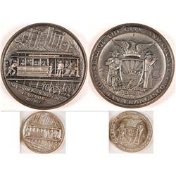 Cable Car Centennial Silver Medals
