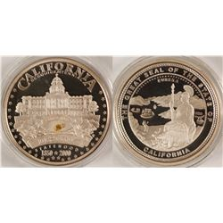 Sesquicentennial Silver Proof Medallion