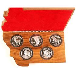 Montana Statehood Centennial Five-Coin Silver