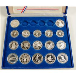 1984 Olympic Silver Proof Coin Collection