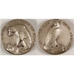 Aesop's Fables - Society of Medalists #21