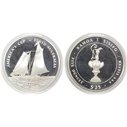 America's Cup Silver Medallion