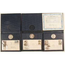 Commemorative Medals - Kennedy, MacArthur, Truman