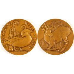 Conserve Wildlife - Society of Medalists #18