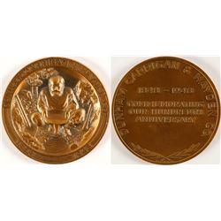 Dunham, Carrigan & Hayden Co. Medal