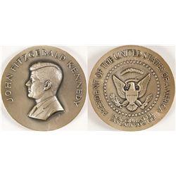 John F. Kennedy Inaugural Medal in Fine Silver - MACo
