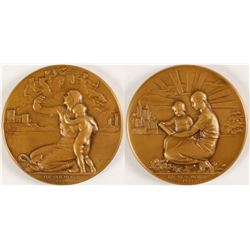 Old World - New World - Society of Medalists #19