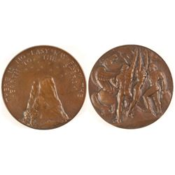 Pegasus and Men - Society of Medalists #8