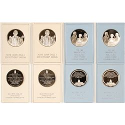 Pope John Paul I Election and Ronald Reagan Inaugural Medals