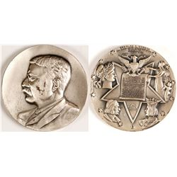 Coin Medallion of Theodore Rosevelt