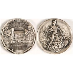 Coin Commemorative Medallion (Silver)