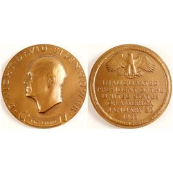 Commemorative Medallion (Bronze) Eisenhower Inauguration